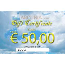 """Gift Certificate """"Gold"""""""