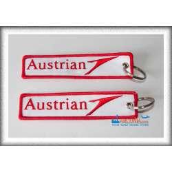 "Austrian - Geborduurde Sleutelhanger ""Key-017"""