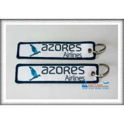 Azores Airlines - Custom Embroidered Keychain...