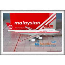 """Malaysia Airlines Boeing 747-400 """"Retro - 9M-MPP"""""""
