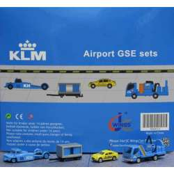 "KLM Airport Accessories Set 2 ""1:200 scale GSE""..."