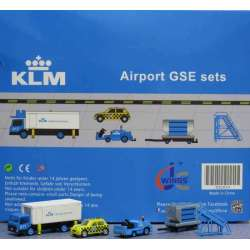 "KLM Airport Accessories Set 4 ""1:200 scale GSE""..."