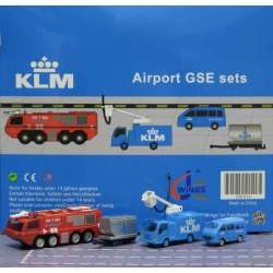 "KLM Airport Accessories Set 6 ""1:200 scale GSE""..."