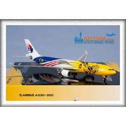 """Malaysia Airlines Airbus a330-300 """"Harimau..."""