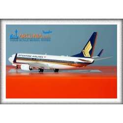 """Singapore Airlines Boeing 737-800wl """"9V-MGA""""..."""